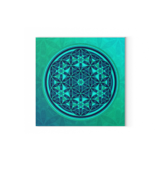 ★ Flower Of Life - Batik Style Colored 1