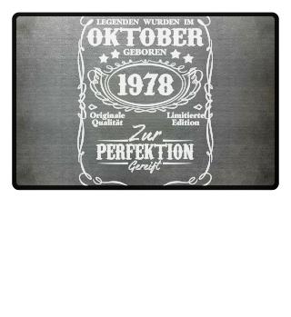 Legenden Oktober Geburtstag 1978
