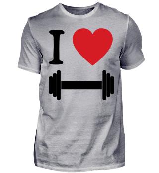 I Love Fitness - BLACK