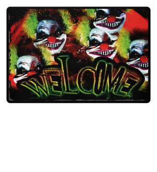 Horror Clown - Welcome fullprint