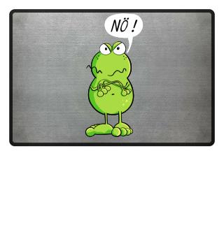 Nö Frosch Cartoon I Cool Frösche Nein