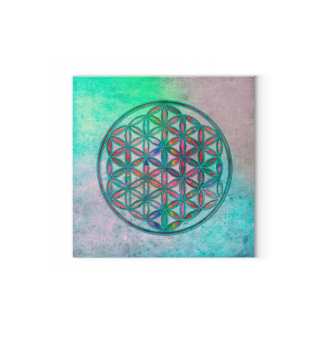 Flower Of Life - Antique Grunge Colors 2