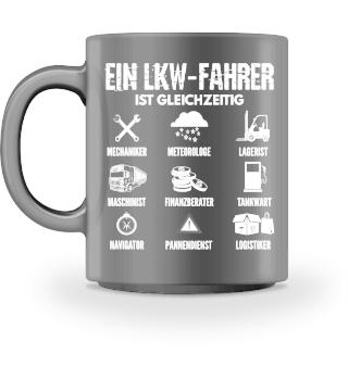 LKW Tasse - Fahrer ist gleichzeitig
