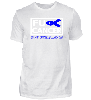 Fck Cancer Shirt the colon