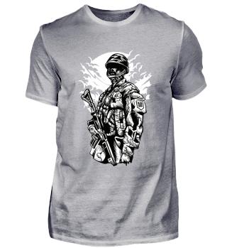 ☛ ZOMBIE SOLDIER #1