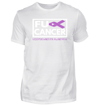 Fck Cancer Shirt leiomysarcoma cancer