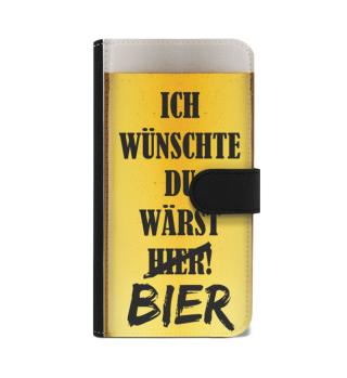 Du wärst Bier - Wallet Case