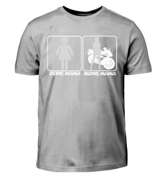 Kinder T-Shirt Motorrad meine Mama