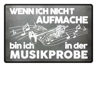 Fußmatte - Trompete Musikprobe